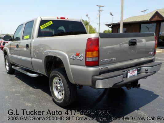 2003 GMC Sierra 2500HD for sale at G L TUCKER AUTO SALES in Joplin MO