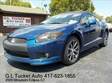 2009 Mitsubishi Eclipse for sale at G L TUCKER AUTO SALES in Joplin MO
