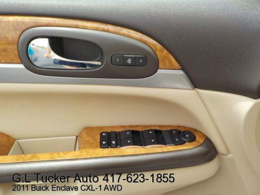 2011 Buick Enclave for sale at G L TUCKER AUTO SALES in Joplin MO