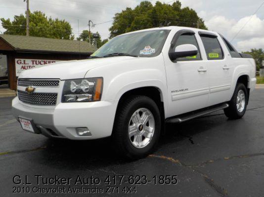 2010 Chevrolet Avalanche for sale at G L TUCKER AUTO SALES in Joplin MO