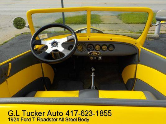 1924 Ford T Roadster for sale at G L TUCKER AUTO SALES in Joplin MO