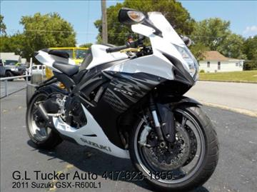 2011 Suzuki GSXR600 for sale at G L TUCKER AUTO SALES in Joplin MO