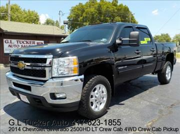 2014 Chevrolet Silverado 2500HD for sale at G L TUCKER AUTO SALES in Joplin MO