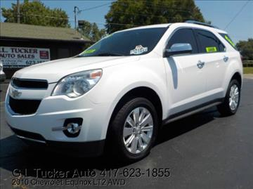 2010 Chevrolet Equinox for sale at G L TUCKER AUTO SALES in Joplin MO