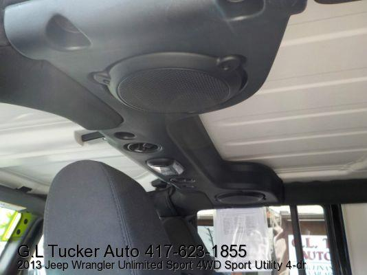 2013 Jeep Wrangler Unlimited for sale at G L TUCKER AUTO SALES in Joplin MO