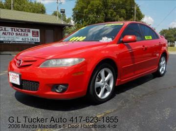 2006 Mazda MAZDA6 for sale at G L TUCKER AUTO SALES in Joplin MO