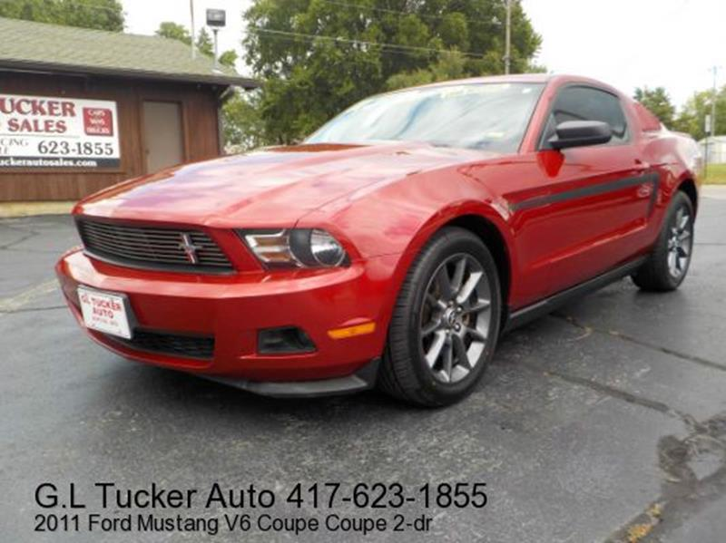 2011 Ford Mustang for sale at G L TUCKER AUTO SALES in Joplin MO
