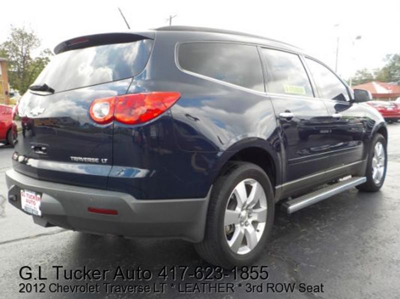 2012 Chevrolet Traverse for sale at G L TUCKER AUTO SALES in Joplin MO