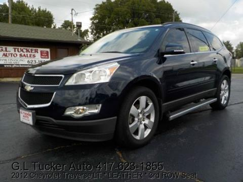 2012 Chevrolet Traverse for sale at G L TUCKER AUTO SALES in Joplin MO