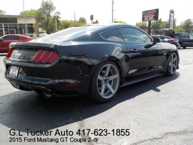 2015 Ford Mustang for sale at G L TUCKER AUTO SALES in Joplin MO