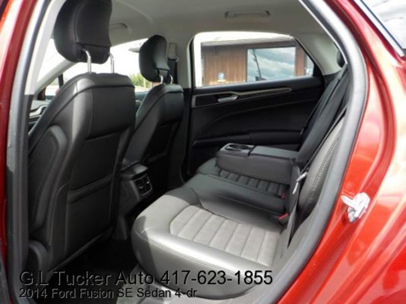 2014 Ford Fusion for sale at G L TUCKER AUTO SALES in Joplin MO