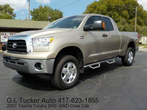 2007 Toyota Tundra for sale at G L TUCKER AUTO SALES in Joplin MO