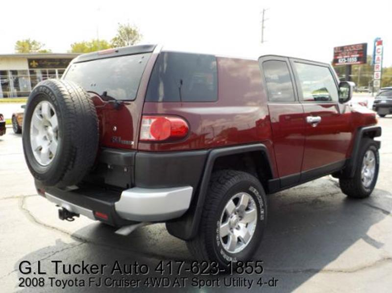 2008 Toyota FJ Cruiser for sale at G L TUCKER AUTO SALES in Joplin MO