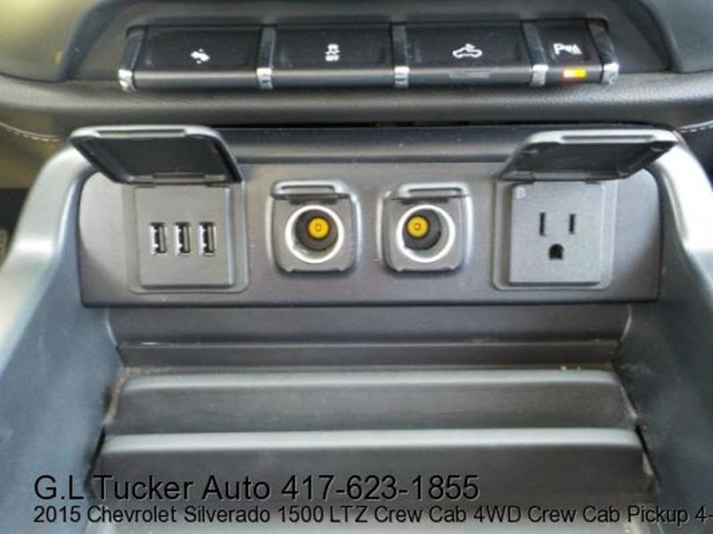 2015 Chevrolet Silverado 1500 for sale at G L TUCKER AUTO SALES in Joplin MO