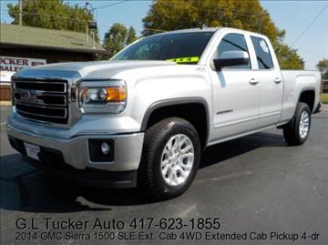 2014 GMC Sierra 1500 for sale at G L TUCKER AUTO SALES in Joplin MO