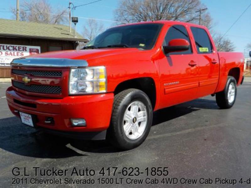 2011 Chevrolet Silverado 1500 for sale at G L TUCKER AUTO SALES in Joplin MO