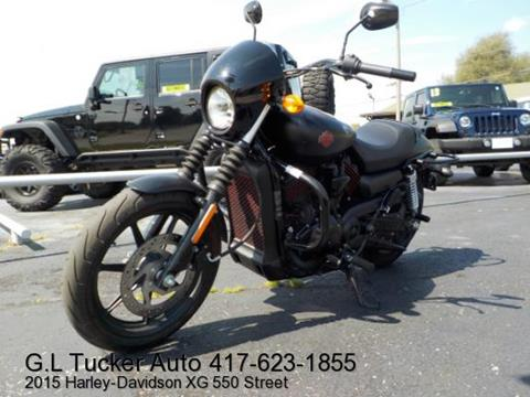 2015 Harley-Davidson XG 550 for sale at G L TUCKER AUTO SALES in Joplin MO