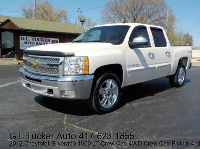 2012 Chevrolet Silverado 1500 For Sale At G L TUCKER AUTO SALES In Joplin MO