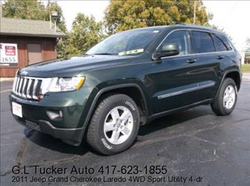 2011 Jeep Grand Cherokee for sale at G L TUCKER AUTO SALES in Joplin MO