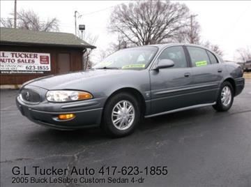 2005 Buick LeSabre for sale at G L TUCKER AUTO SALES in Joplin MO