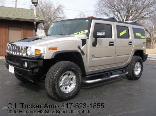2006 HUMMER H2 for sale at G L TUCKER AUTO SALES in Joplin MO