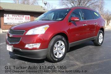 2010 Chevrolet Traverse for sale at G L TUCKER AUTO SALES in Joplin MO