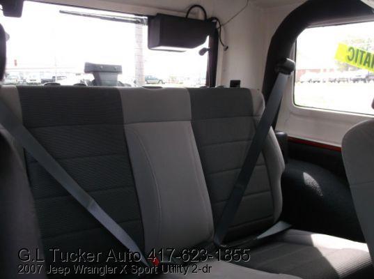 2007 Jeep Wrangler for sale at G L TUCKER AUTO SALES in Joplin MO