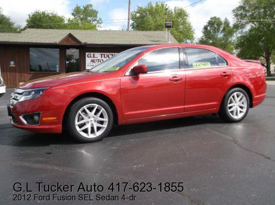 2012 Ford Fusion for sale at G L TUCKER AUTO SALES in Joplin MO