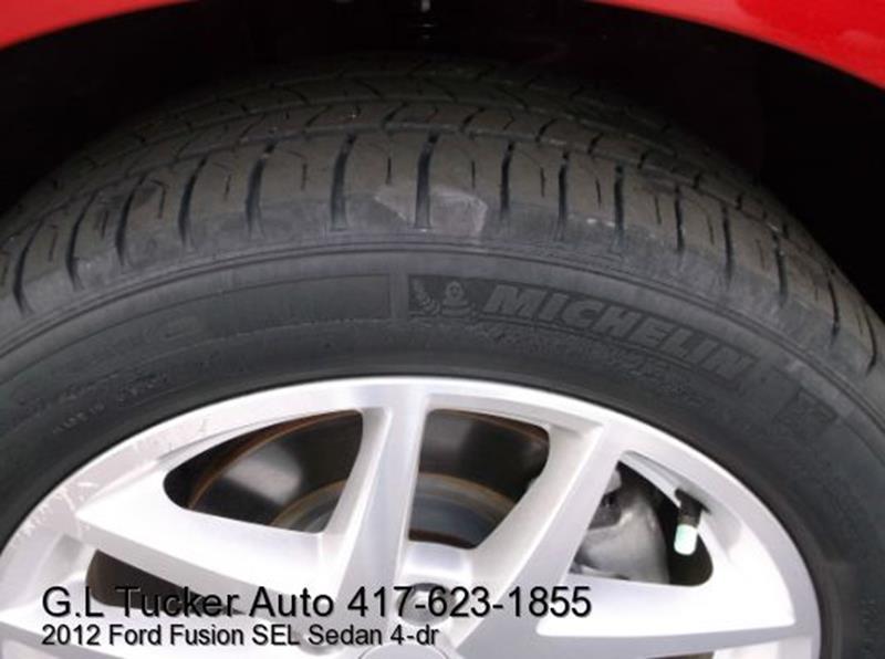 2012 Ford Fusion for sale at G L TUCKER AUTO SALES in Joplin MO