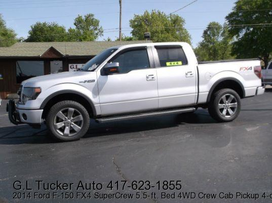 2014 Ford F-150 for sale at G L TUCKER AUTO SALES in Joplin MO