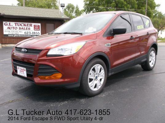 2014 Ford Escape for sale at G L TUCKER AUTO SALES in Joplin MO