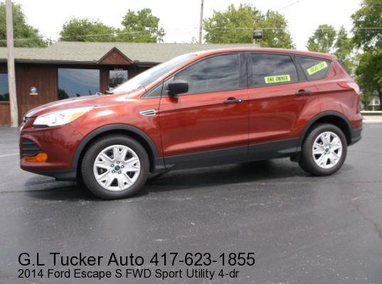2014 Ford Escape for sale at G L TUCKER AUTO SALES in Joplin MO