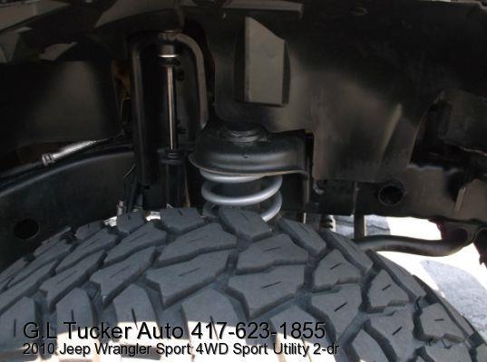 2010 Jeep Wrangler for sale at G L TUCKER AUTO SALES in Joplin MO