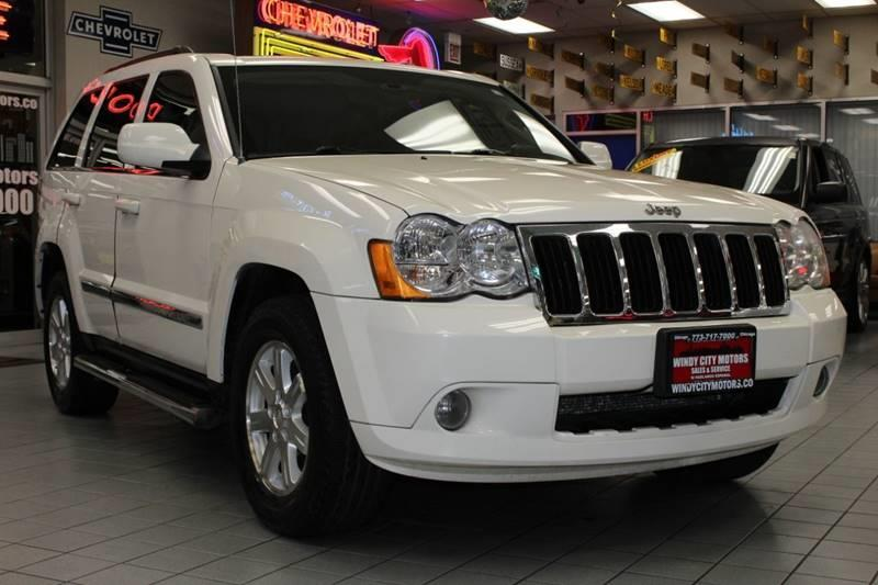 2008 Jeep Grand Cherokee Limited >> 2008 Jeep Grand Cherokee 4x2 Limited 4dr Suv In Chicago Il