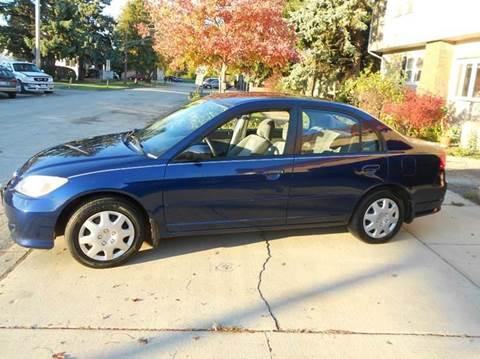 2005 Honda Civic for sale at Grand River Auto Sales in River Grove IL