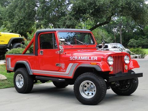 1982 Jeep Scrambler for sale in League City, TX