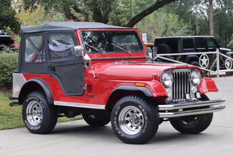 1982 Jeep CJ-5 for sale in League City, TX