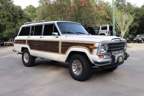 1986 Jeep Grand Wagoneer for sale in League City, TX