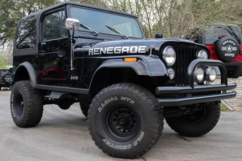 1984 Jeep CJ-7 for sale in League City, TX
