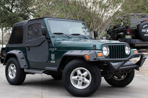 1999 Jeep Wrangler for sale in League City, TX