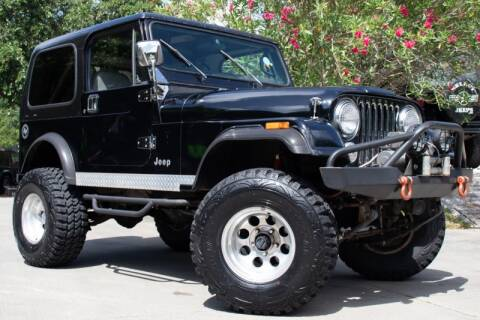 1986 Jeep CJ-7 for sale in League City, TX