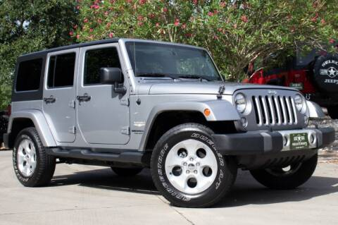 2014 Jeep Wrangler Unlimited for sale in League City, TX