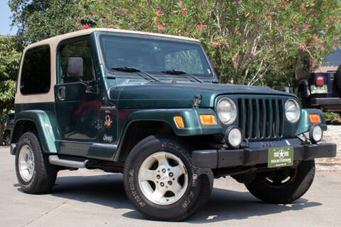 2000 Jeep Wrangler for sale in League City, TX