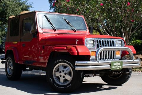 1989 Jeep Wrangler for sale in League City, TX