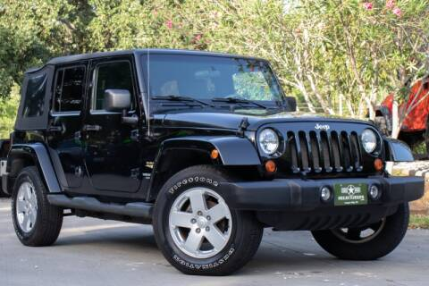 2007 Jeep Wrangler Unlimited for sale in League City, TX