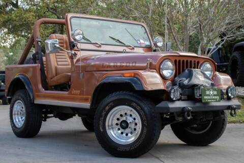1981 Jeep CJ-7 for sale at SELECT JEEPS INC in League City TX