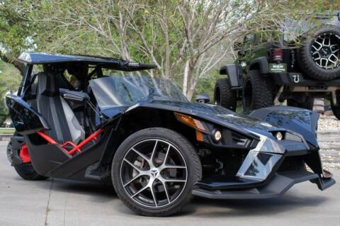 2016 Polaris Slingshot for sale at SELECT JEEPS INC in League City TX