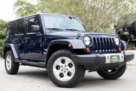 2013 Jeep Wrangler Unlimited for sale at SELECT JEEPS INC in League City TX