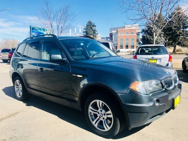 2004 Bmw X3 AWD 3.0i 4dr SUV In Fort Collins CO - J & M IMPORT AUTO ...