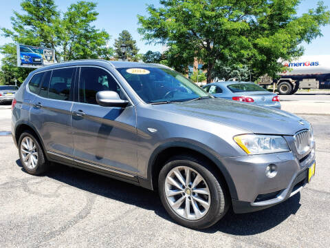 2014 BMW X3 for sale at J & M PRECISION AUTOMOTIVE, INC in Fort Collins CO
